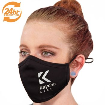 RUSH Production Adjustable Fabric Face Masks