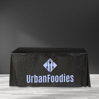 """Recyclable Plastic Table Cover - 65"""" x 156"""""""